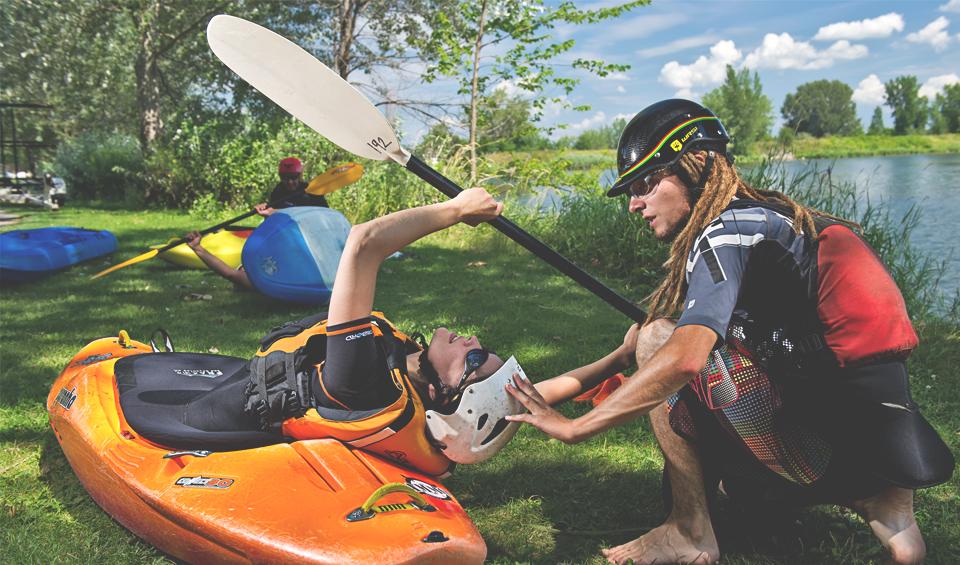 cours kayak montreal KSF