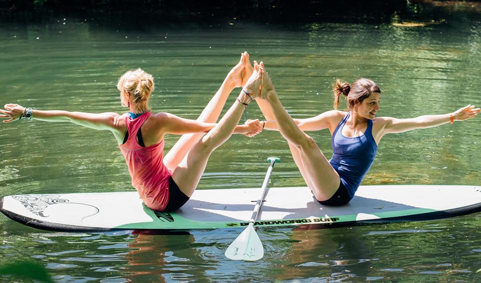 sup yoga duo montreal KSF