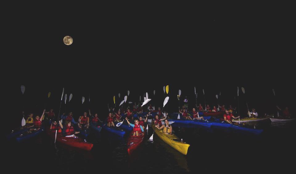 kayak randonnée peine lune montreal KSF