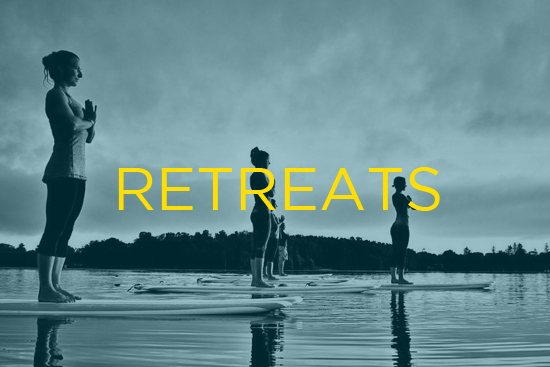 SUP yoga retreats ksf montreal