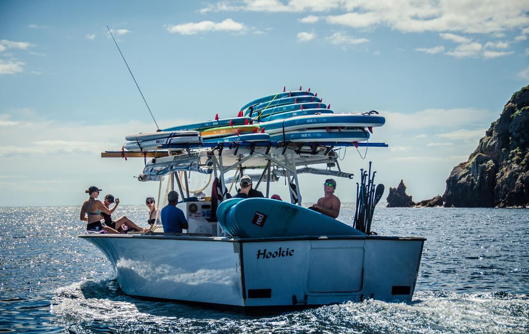 Des participants bien prêts pour l'aventure! ~ Photo par Sean O'Connor