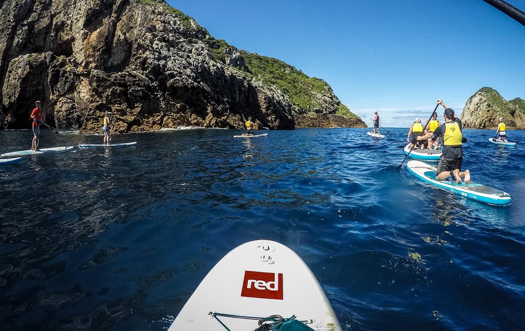 En SUP autour du monde: Exploration des Poor Knights Islands, Nouvelle-Zélande