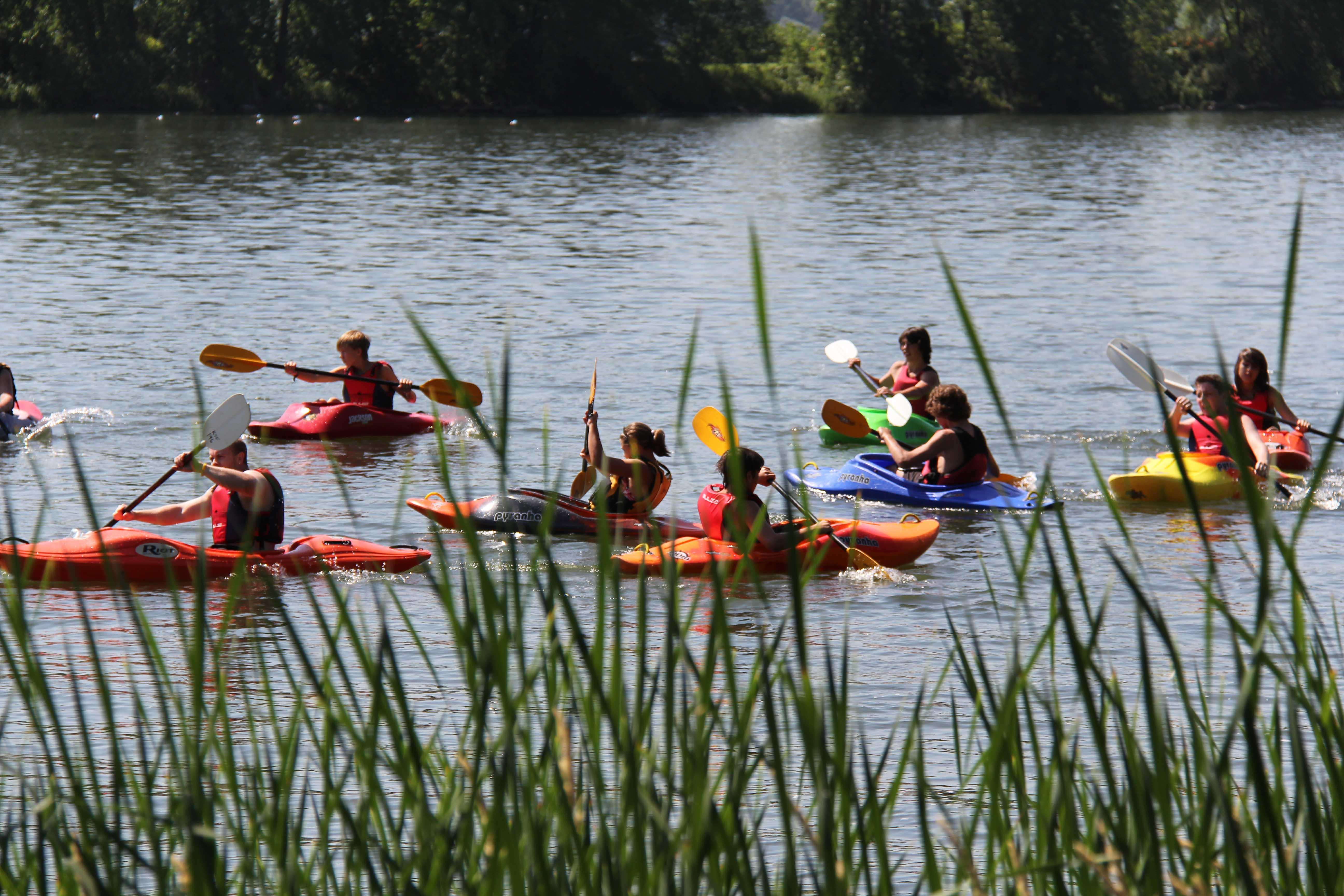 Cours de kayak d'eau vive à Montréal.