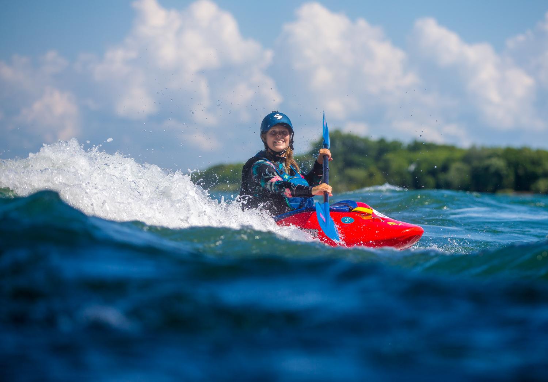 Kayal d'eau vive - KSF Montréal - SUP, SURF, KAYAK